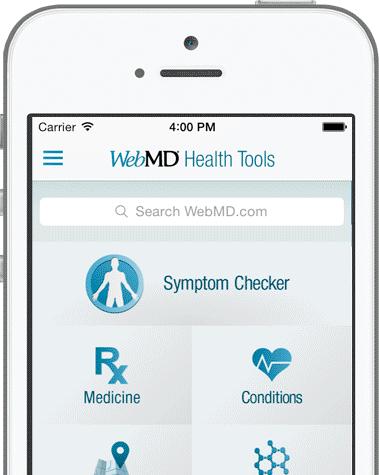 Web MD Health Tools