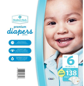 Members Mark Diapers